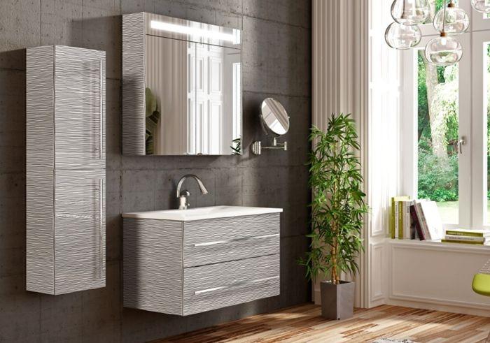 Badmöbel grau  Discounter Online Shop - Badmoebel-ANAIS-Set-120-in-Farbe-Schiefer ...