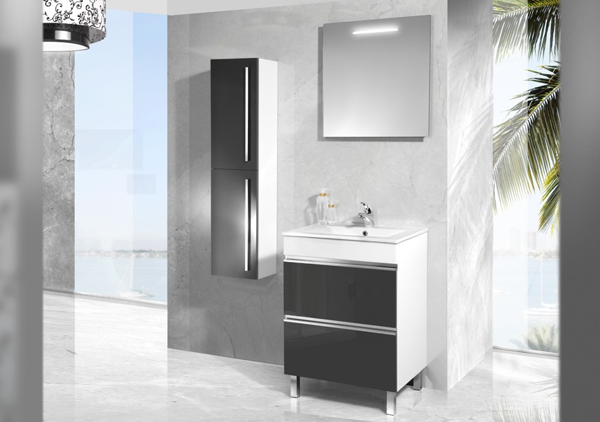 badm bel weiss stehend. Black Bedroom Furniture Sets. Home Design Ideas